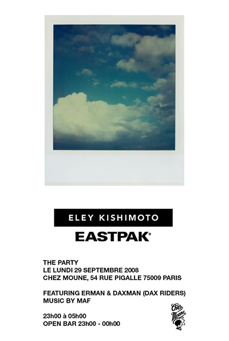Eastpak Party Invite