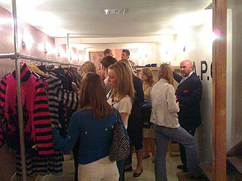 Shop at Maison Bertaux Opening
