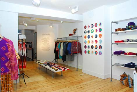 EK Pop-up shop London