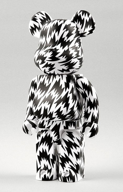 Eley Kishimoto Bearbrick in Black