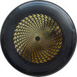 "Eley Kishimoto Freestyle ""Flash"" Frisbee - Black Thumbnail"