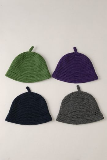 AW1213 CHUNKY CROCHET CLOCHE - VARIOUS - Other Image