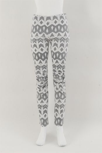 HSS13 CLUNKY ATTRACTION WASH&GO RUFFLE KNEE TROUSERS