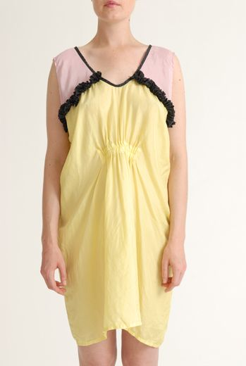 SS12 SILK HABOTAI NIGHTY DRESS - VARIOUS