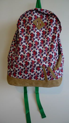 SS12 MINI MEAN ROSES BACK PACK RED