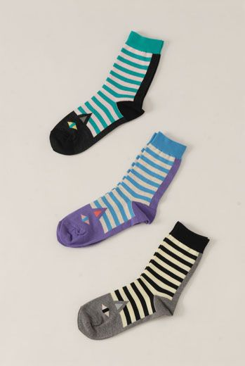 SS13 CAT ANKLE SOCKS - Other Image