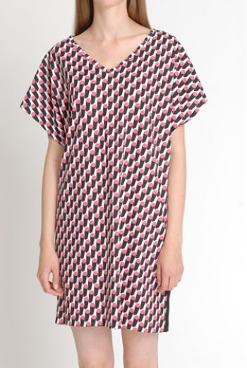 SS14 SUN LOVING BOLLARDS YING & YANG DRESS