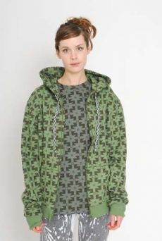 AW1112 MAGIC CARPET HYPER PRINT HOODIE - VARIOUS - Other Image