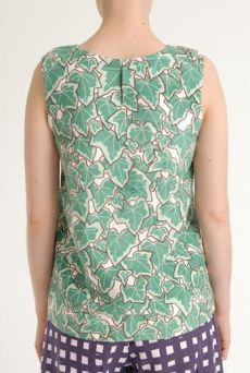 SS12 POSY IVY KANGA SHELL TOP -GREEN - Other Image
