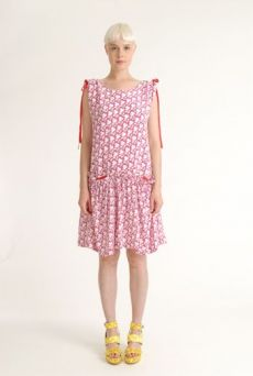 SS12 MINI MEAN SHADOW NARCISUS DRESS - VARIOUS - Other Image