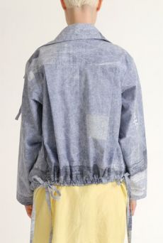 SS12 MAD WEAVER HUMBLE BLOUSON JACKET - Other Image