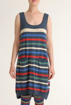 SS12 STRIPY KNIT DRESS - VARIOUS