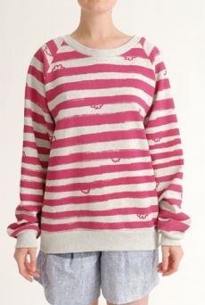SS12 WONDER BORDER RAGLAN SWEATSHIRT - VARIOUS