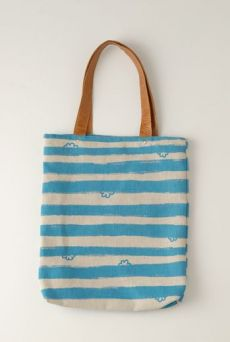 SS12 WONDER BORDER SHOPPER BAG - VARIOUS