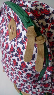 SS12 MINI MEAN ROSES BACK PACK RED - Other Image