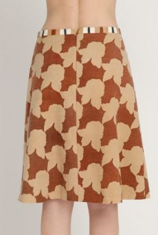 AW1213 SHADOW ROSES POLITE SKIRT - VARIOUS - Other Image