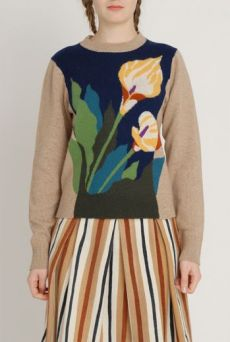 AW1213 CALA BELLA JUMPER - GOLD