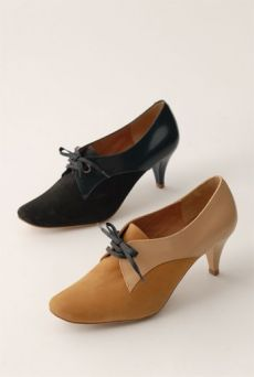 AW1213 SPINSTER'S SHOE - BLACK