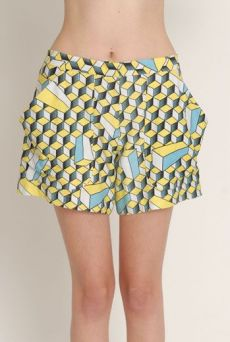 SS13 CUTEBOYS ELASTIC BACK SHORTS