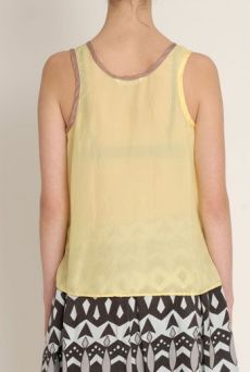 SS13 SILK HABOTAI POCKET TANK - Other Image