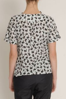 SS13 FIZZY PUSSYS RUCHE COLLAR BLOUSE - Other Image