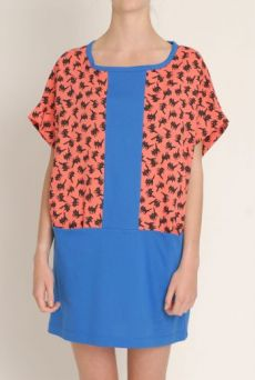 SS13 FIZZY PUSSYS CONTRAST TUNIC DRESS - Other Image