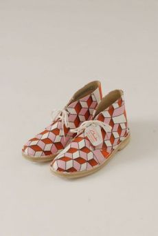 SS13 ORANGE CUTEBOYS DESERT BOOTS