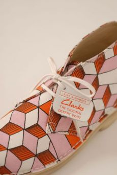 SS13 ORANGE CUTEBOYS DESERT BOOTS - Other Image