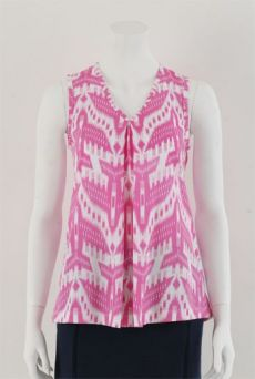 HSS13 SPACECRAFT PLEAT VEST - PINK
