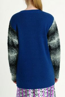 AW1314 BEASTY SLEEVE JUMPER - Other Image