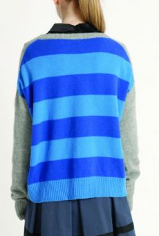 AW1314 STRIPE BACK JUMPER - Other Image