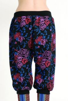 AW1314 FELT TIP ROSES HOBBIT PANTS - Other Image