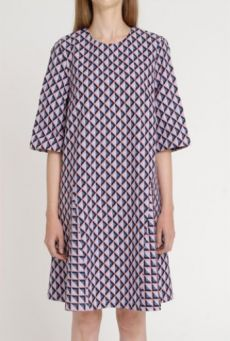 SS14 LIGHT ON LATTICE ICEBERG DRESS