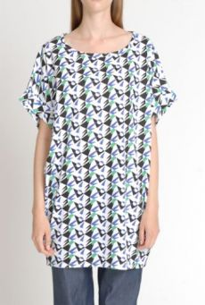 SS14 BUTTERFLY TRAP SACK TUNIC