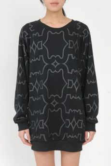 AW15 VANITY CATS POCKET SWEATSHIRT