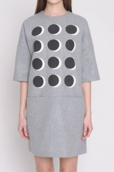 AW16 BULLET HOLEY DRESS