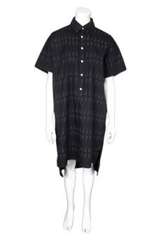 SS17 LITTLE HILLS AND VALLEYS  SPLIT HEM SHIRT DRESS - Other Image