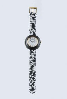 AW1112 BIG FLASH WATCH - BLACK