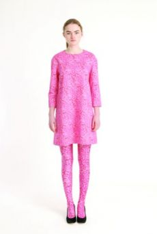 AW1314 LA LA LYON ANGLE DRESS - Other Image