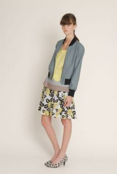 SS13 COTTON SILESIA CRAFTY BOMBER - Other Image